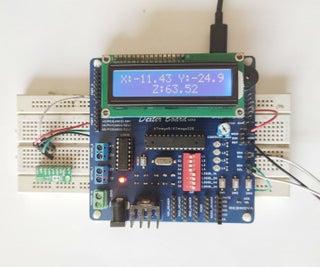 Magnetic Sensor (lis3mdl) With Dexter