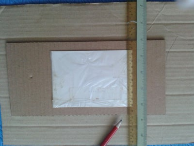 3R Photo Frame Step 2: Measure and Cutting