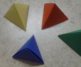 Tetrahedron Gift Box
