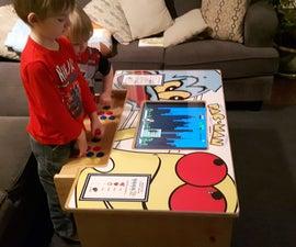 A DIY Arcade Table powered by Raspberry Pi