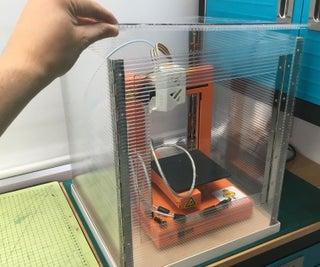 Flat Pack 3D Printer Enclosure