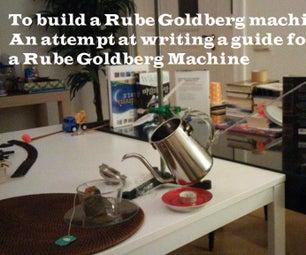 Rube Goldberg Machine Prototype