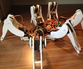 Let us build a handmade Hexapod robot