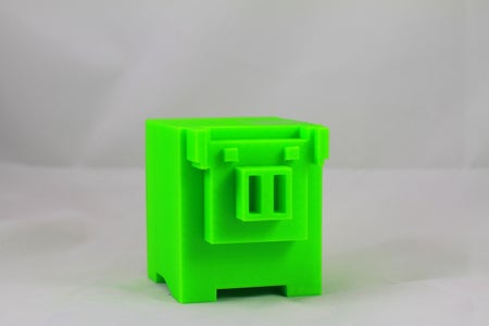 3D Printable 8-bit Piggy Bank