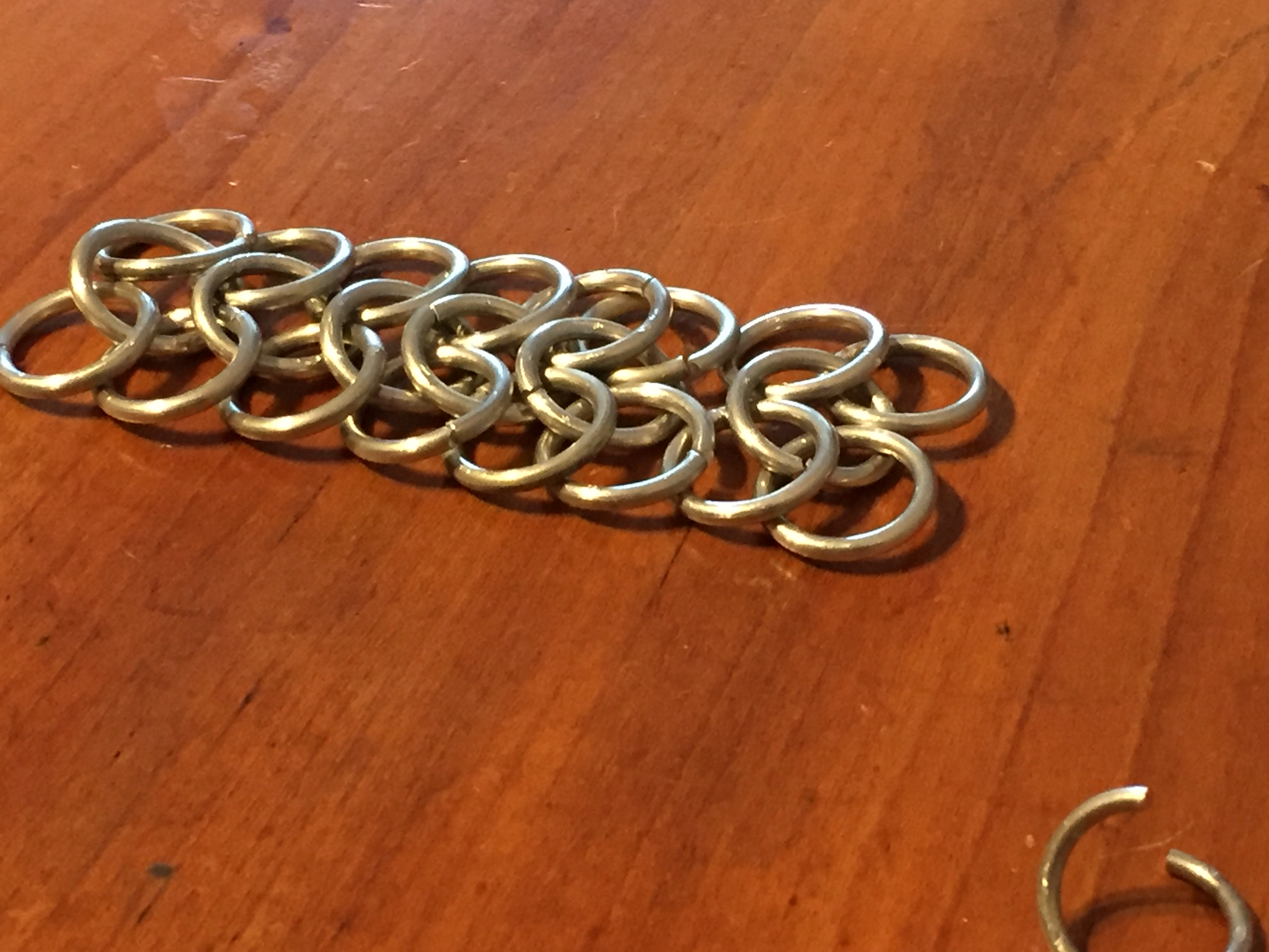 Picture of The Second Way to Make Chain Mail, Step 2