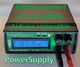 Digital Battery Operated Powersupply
