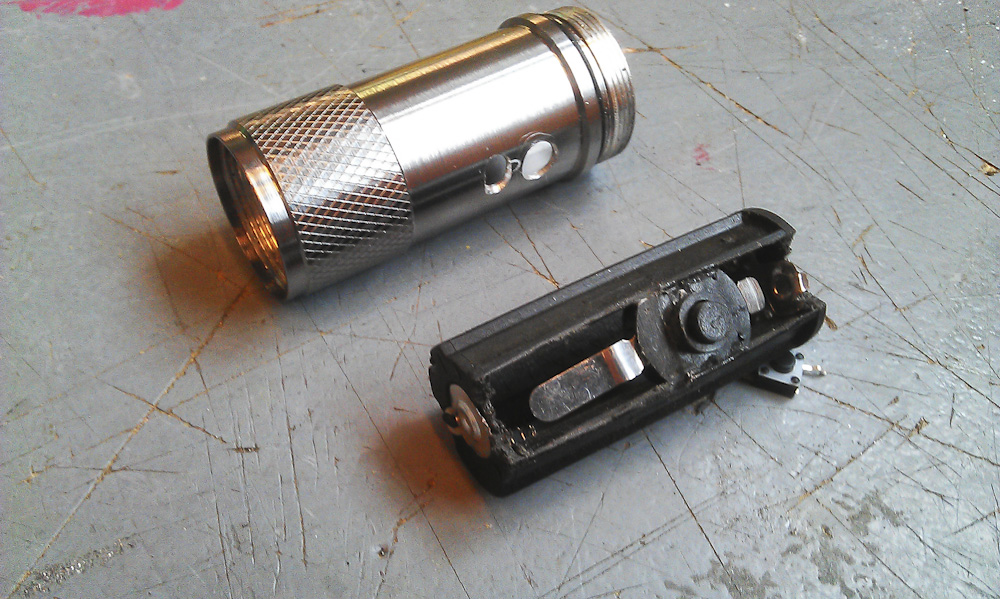 Picture of Battery Holder & Switches