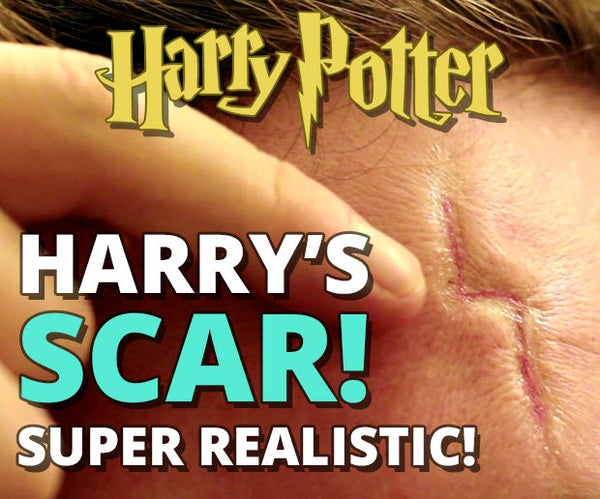 Harry Potter's Scar - Super Realistic!