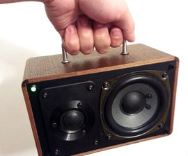 Portable Retro Hi-Fi Speaker