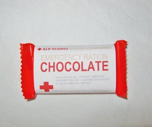 Emergency Chocolate Rations -  Simple Holiday Gift