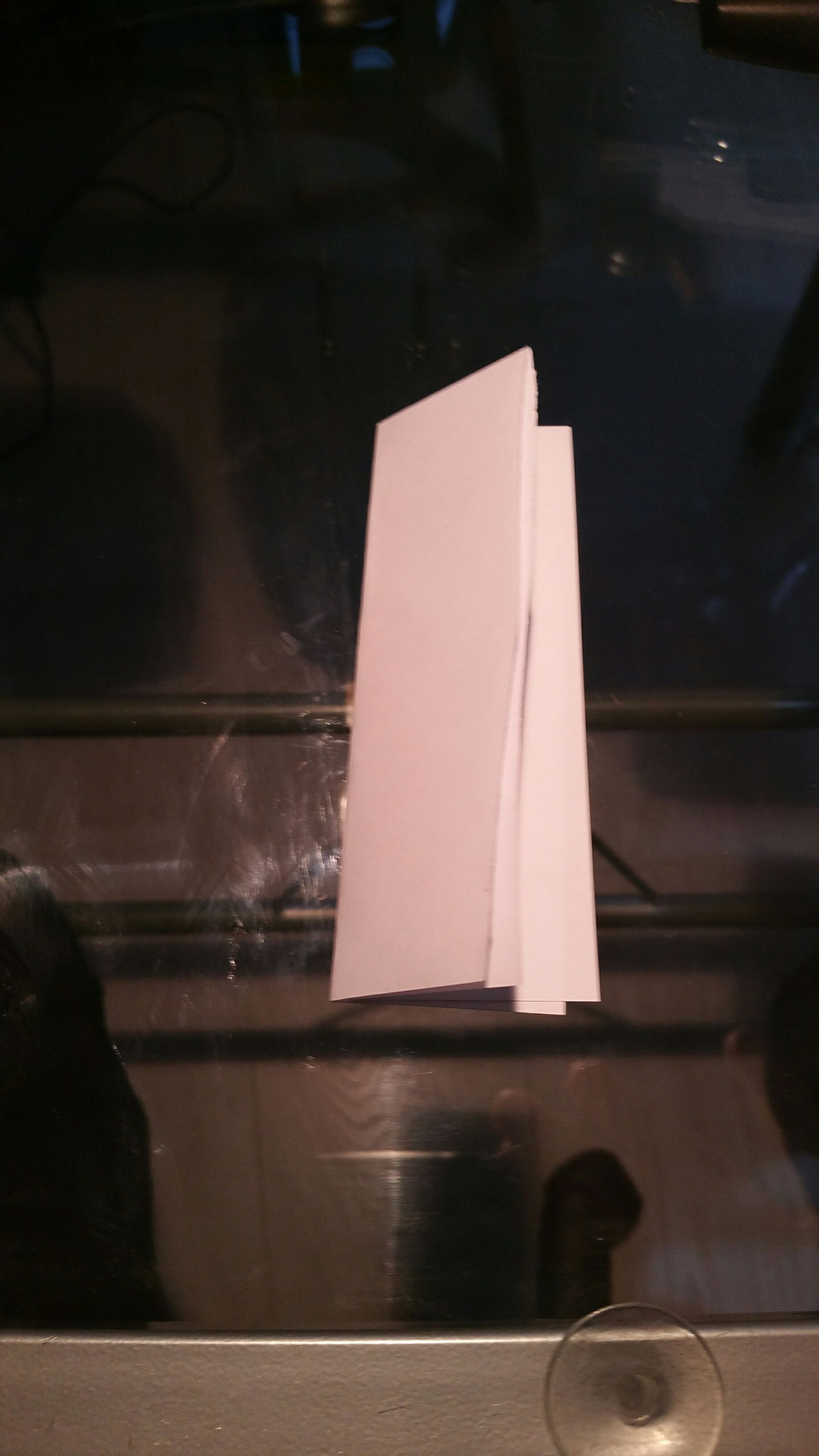 """Picture of The """"fake"""" Bookmark"""