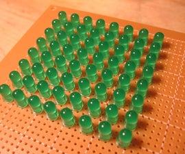 LED Matrix Using Shift Registers