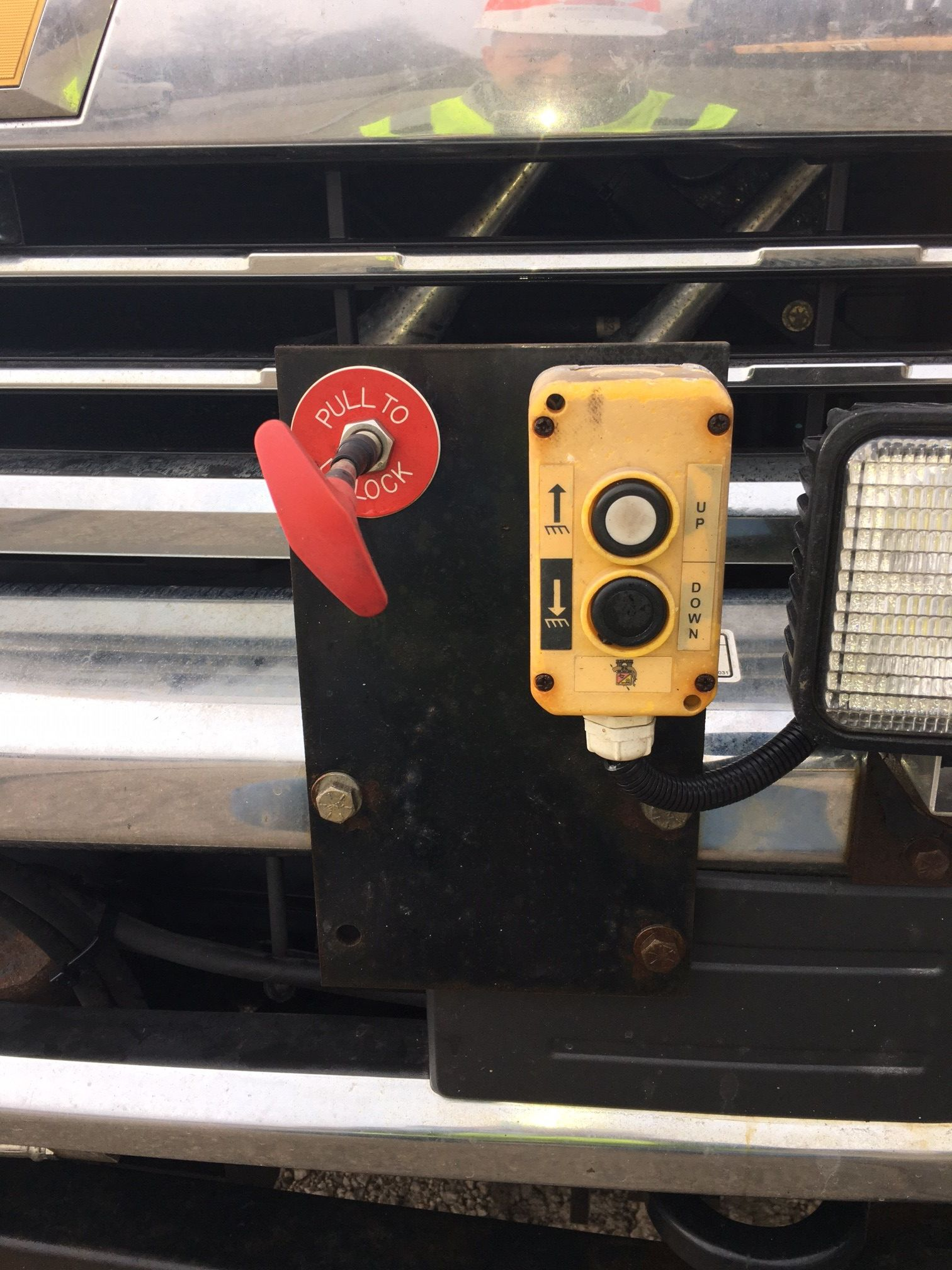 Picture of How to Set a Railroad Hi-rail Vehicle on the Rail