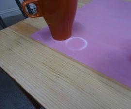 Heat Sensitive Colour Change Table