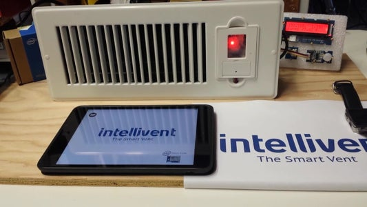 IntelliVent - the Smart Vent Controlled by REST Api