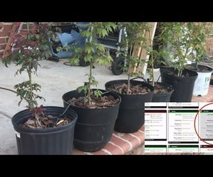 WiFi Automatic Plant Feeder With Reservoir - Indoor/Outdoor Cultivation Setup - Water Plants Automatically With Remote Monitoring