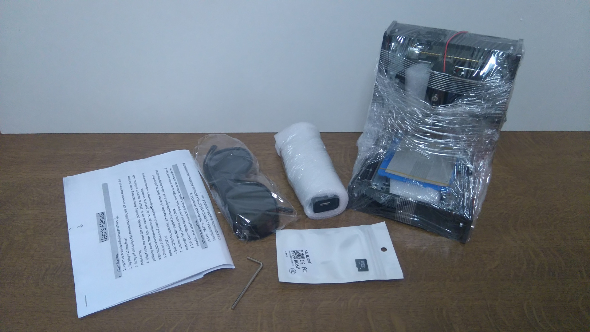Picture of Packing Contents
