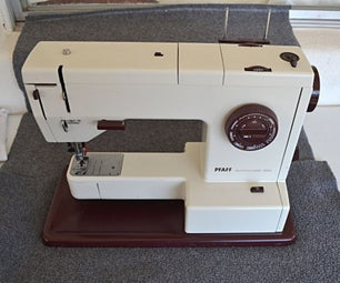 How to Remove Covers From Pfaff 1214/1213/1222E Sewing Machine