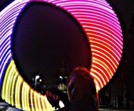 Individually Addressable LED Hula Hoop