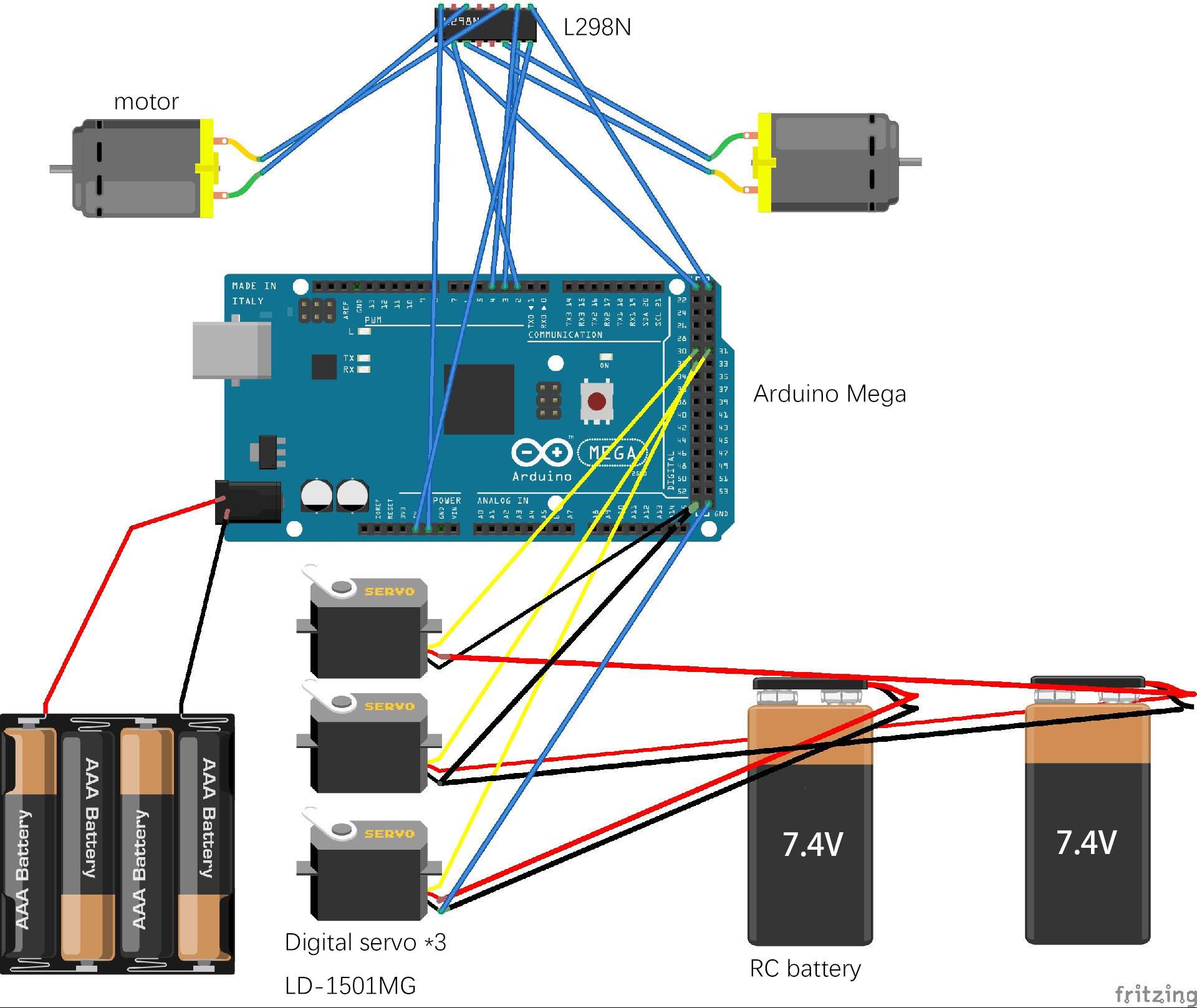 Picture of Step4: Circuit Diagram
