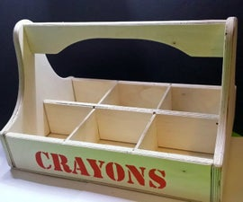 Crayons Carrying Tote