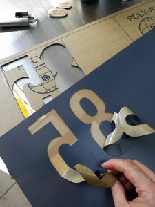 House Numbers Inverted