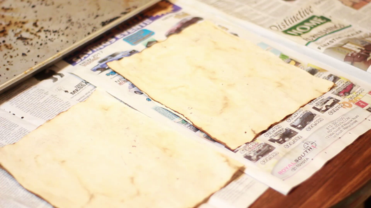 Ageing the Pages