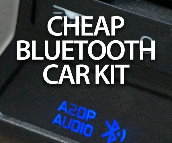 Cheap In-car Bluetooth Hands-free Kit With Music Streaming (A2DP)