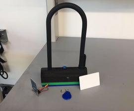 The Keyless Bike Lock