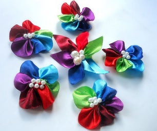 Colorful Flower Brooch Pin