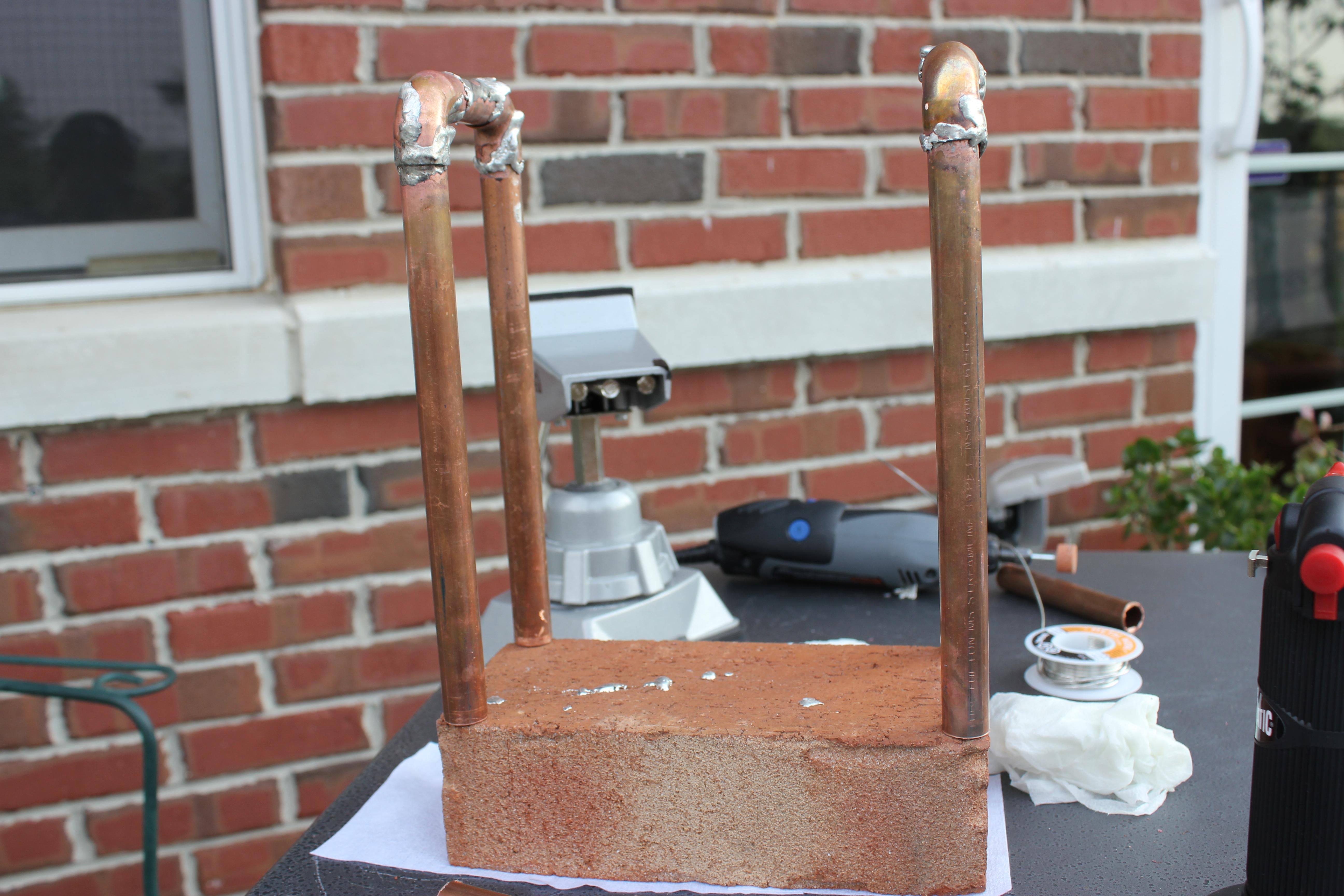 Picture of Preparing Copper Pipe