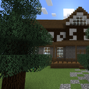 Half-Timbered Minecraft House
