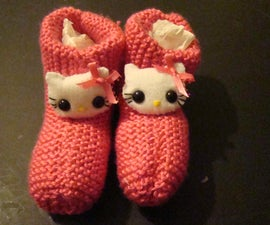 Kids Knitted Slippers