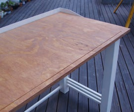 Art Deco Crafts Table