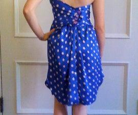 Make a Dress from a Button-Down Shirt