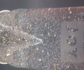 Etched Glass Snow Globe