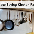 Space-Saving Kitchen Rack — Easy DIY Project