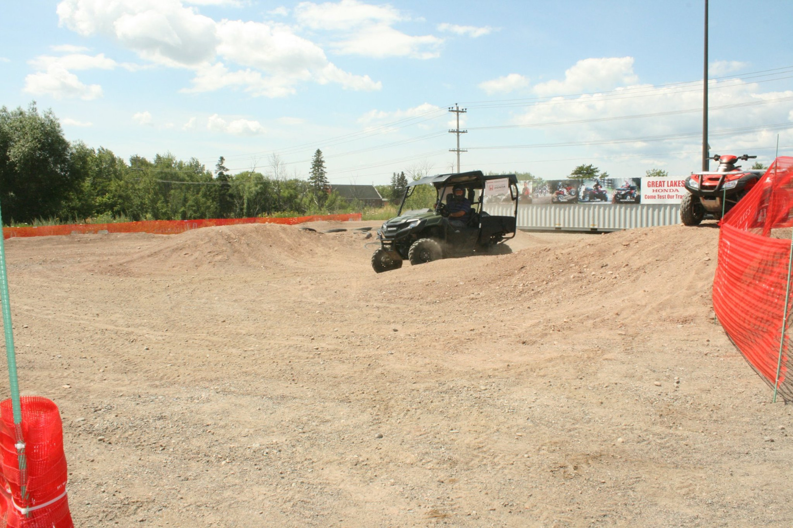 Picture of Some Videos and Pictures of Us Utilizing the Test Track