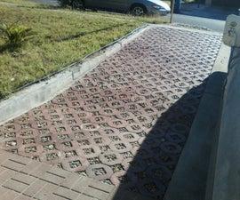 Concrete Octagonal Driveway Pavers