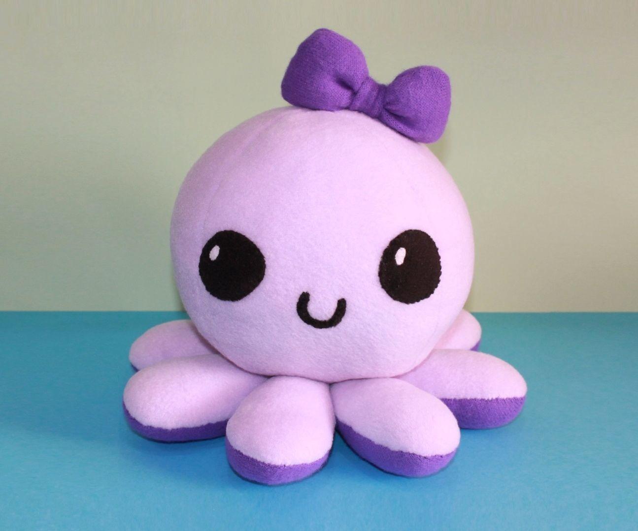 Kawaii octopus plushie template by sewingplush2point0. Deviantart.