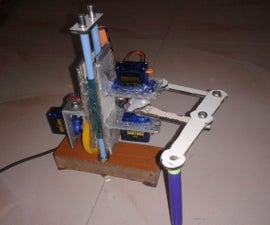 Cute Drawing Buddy V1, SCARA Robot - Arduino