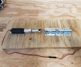 How to Make a Remote Controlled Door Lock