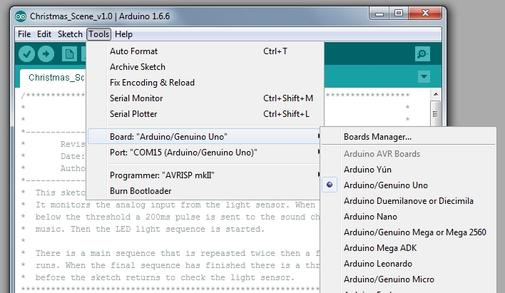 Picture of Program the Arduino