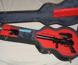 Paintball Guitar Case