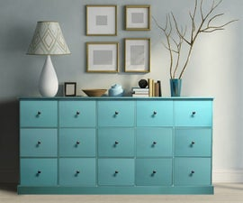 PIGEON HOLE - MULTI-DRAWER CABINET