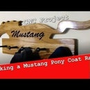 Mustang Pony Coat Rack