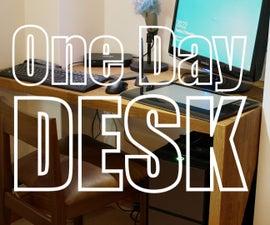 Make a Butcher Block Desk/Workstation
