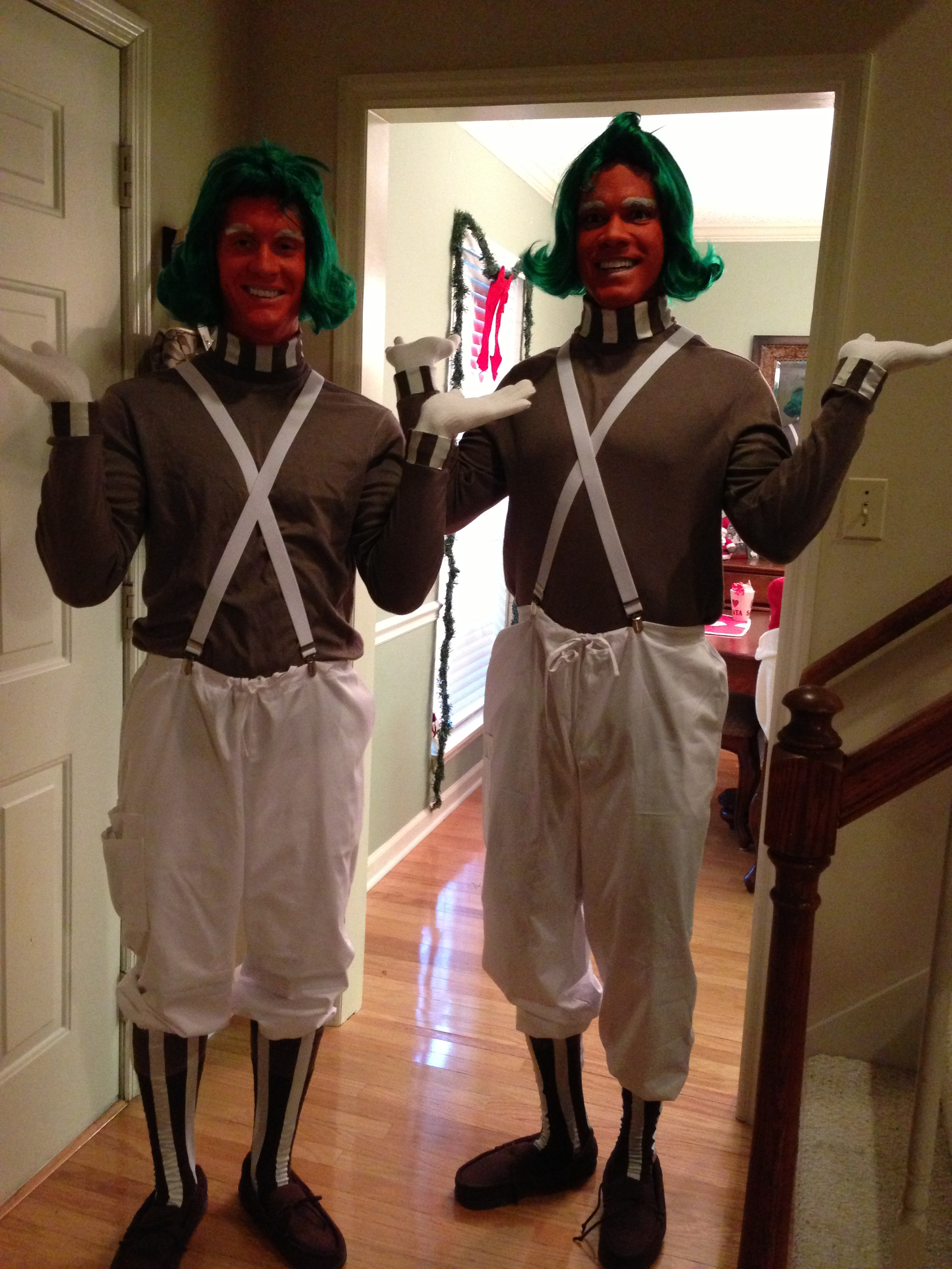 Picture of Oompa Lumpa Costume Home Made
