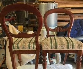 Repairing a Victorian Balloon Back Chair