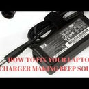 Laptop Charger Making a Beep Sound Fixed